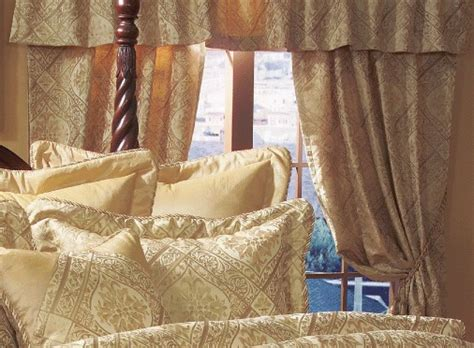 gold imperial comforter set 14 queen gold imperial comforter set w curtain set