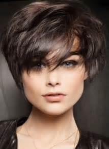 coupe courte femme 2017 rond