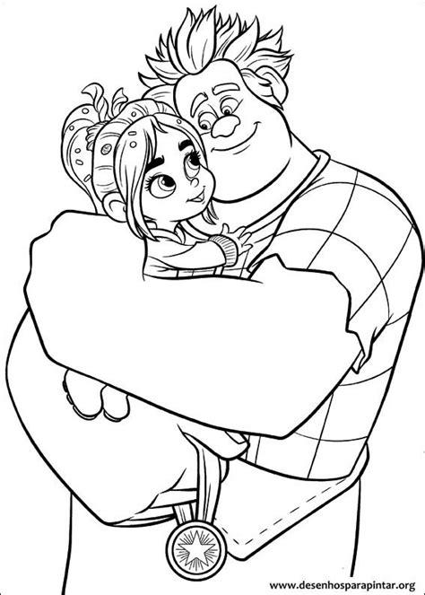Detona Ralph Da Disney Desenhos Para Imprimir Pintar E