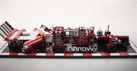 Lego Paper Plane Folding Machine - tiles or studs lego paper plane machine by arthur sacek