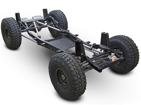 jeep chassis jeep lj tracer complete rolling chassis genright road