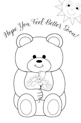 christian get well soon coloring pages free printable get well cards freepsychiclovereadings com