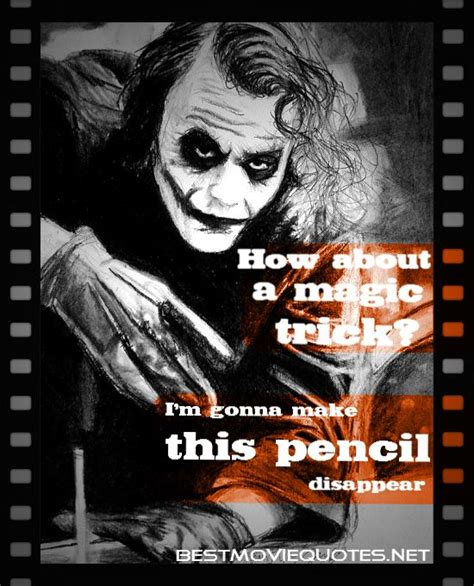 movie quotes joker joker quote how about a magic trick i m gonna make