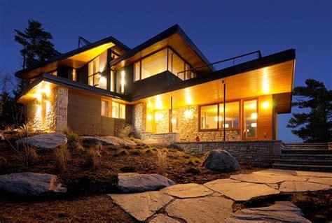modern home design ontario ontario eco house operates the grid modern house designs