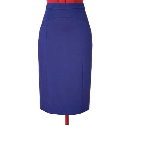 purple pencil skirt custom fit handmade fully