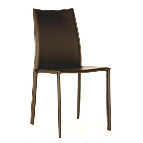 brown leather dining chairs baxton studio rockford brown faux leather upholstered