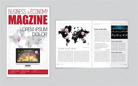 magazine layout html business magazine layout stock vector 169 zeber2010 61549723