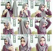Just 4 U  Classic Everyday Hijab Tutorial For Casual Outfits