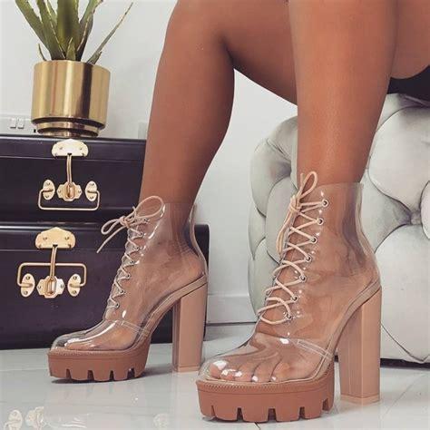 clear   shoes heels sandals  sneakers  women