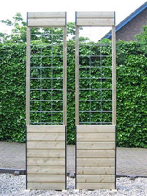 tuin hek metaal 30 cm hoog bloemen en planten