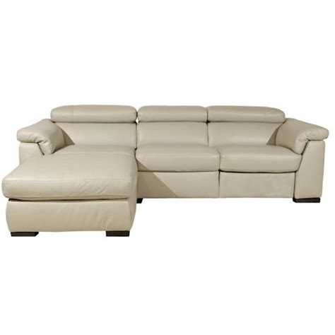 natuzzi editions b634 contemporary chaise sofa and wooden