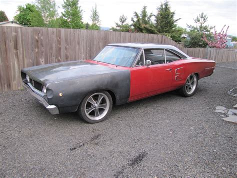 plymouth bb cheap 1968 dodge coronet 500 painted top member projects