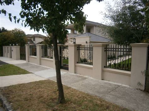 front yard brick fence designs pics for gt front brick fence designs