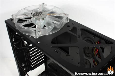best 200mm case fan thermaltake overseer rx 1 case review case layout and