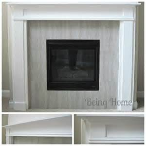 white fireplace mantel and surround diy projects