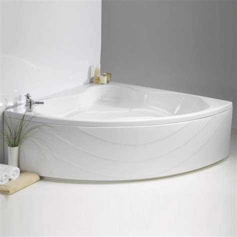 bathroom wholesalers uk contura corner bath and panel 1490 x 1490mm from