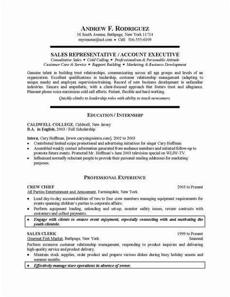 College Graduate Resume by Recent College Graduate Resume Sle Best Resume Collection
