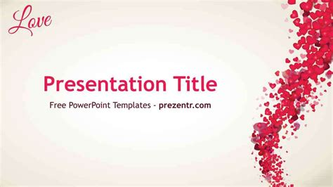 ppt themes love love powerpoint template prezentr