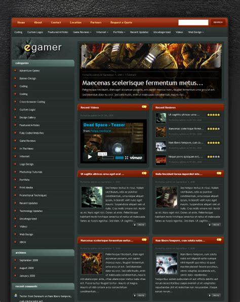 ephoto premium wordpress theme elegant themes egamer gaming wordpress theme elegant themes
