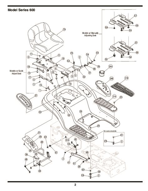 mtd mower parts mtd 600 series automatic lawn tractor lawn mower parts list
