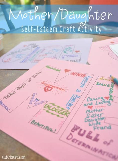 self esteem crafts for 17 best ideas about self esteem crafts on
