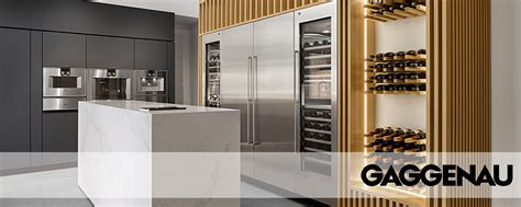 gaggenau products at factory builder stores