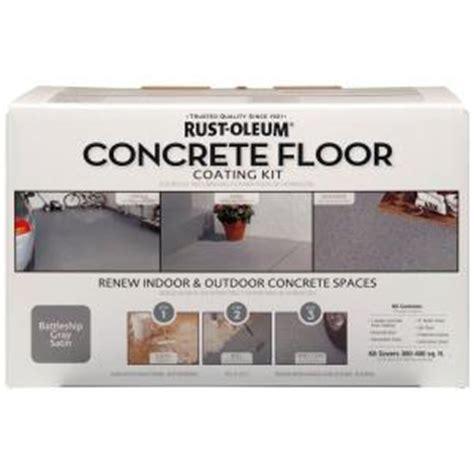 rust oleum concrete floor coating kit 265054 the home depot
