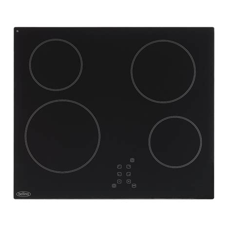 electric induction or ceramic hob 60cm ceramic cooktop with touch controls