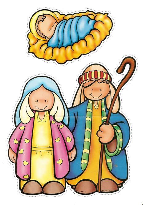 imagenes del nacimiento de jesus para recortar dulces momentos pesebre para armar