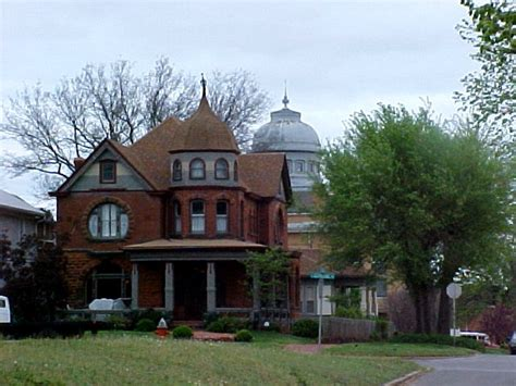 bed and breakfast guthrie ok guthrie ok historic heilman house photo picture image oklahoma at city data com