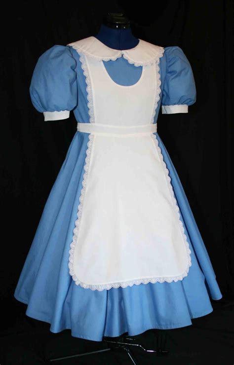 alice in wonderland costume alice in wonderland costumes adult sz alice in wonderland deluxe costume