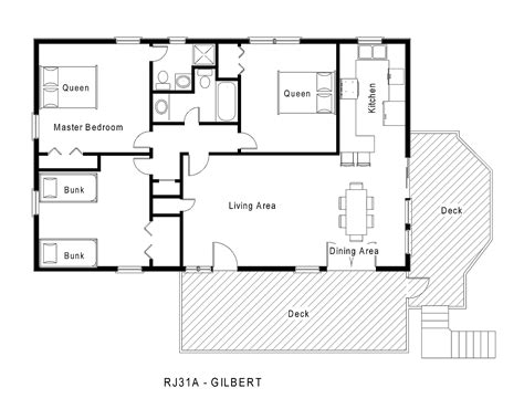 one level house floor plans rj31a gilbert floorplan level 1 jpg midgett realty