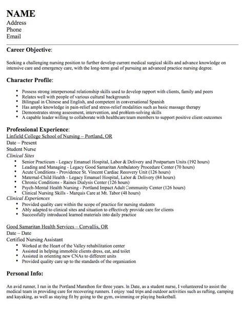 surgical nursing resume sle 925 best exle resume cv images on resume