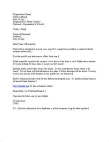 Charity Letter Asking For Donations Template Free Request For Donation Letter Template Sample
