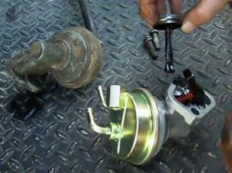 revised how to install a mechanical fuel pump on chevy