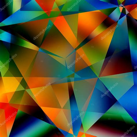 modern abstract design pattern stock photo abstract colorful triangular pattern modern geometric