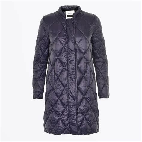 Quilted Womens Coats by Ernada Quilted Coat Navy Winter Coats For