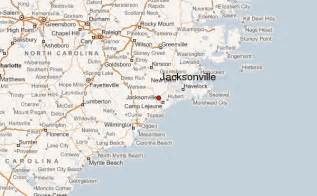 map of jacksonville carolina gu 237 a urbano de jacksonville carolina norte