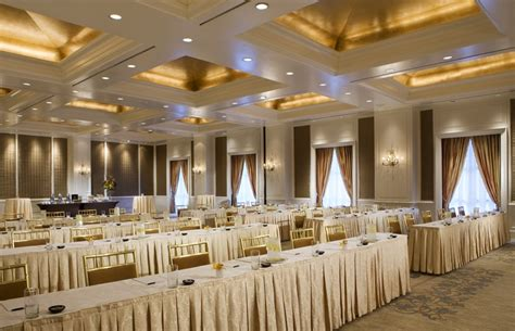 Wedding Organizer Vancouver by Classroom Style Seating At Rosewood Crescent Hotel