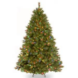 prelit artificial christmas tree washington spruce pre