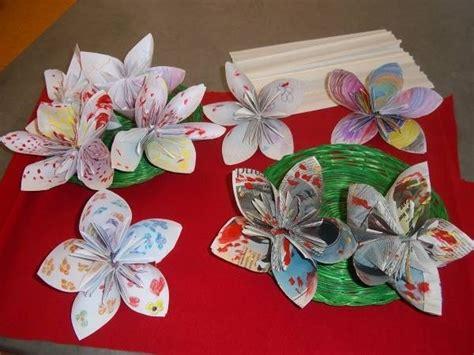 fiori natalizi di carta fiori di carta origami fiori di carta come fare gli