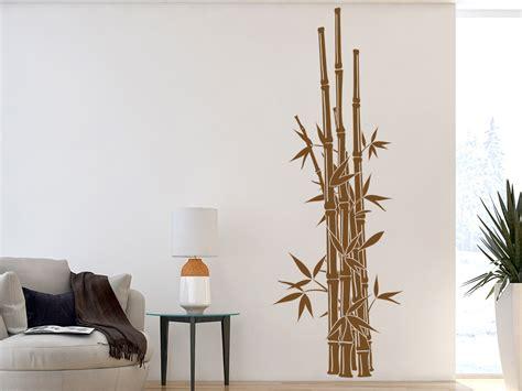 asiatische wandtattoos wandtattoo gerader bambus asiatische deko wandtattoo de