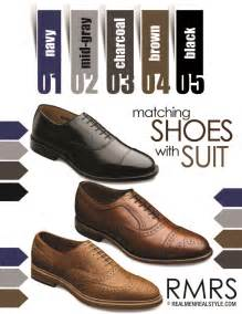 what colors go with brown shoes matching dress shoes with suits how to match a shoe with