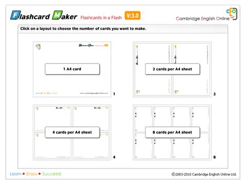 Flash Card Size Template by Nik S Quickshout How To Make Your Own Pronunciation