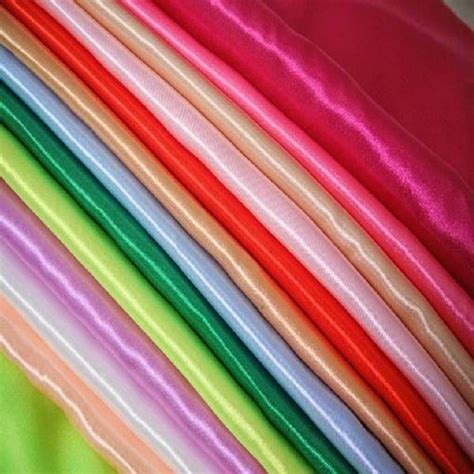 fabric crafts satin 60 quot wide satin fabric by the yard wedding dress