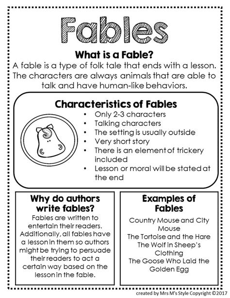 genre mini anchor charts genre anchor charts anchor 24 best famous fairy tale books for kids images on