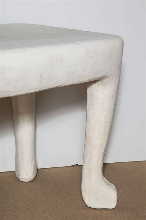 dickinson plaster table dickenson plaster table at 1stdibs