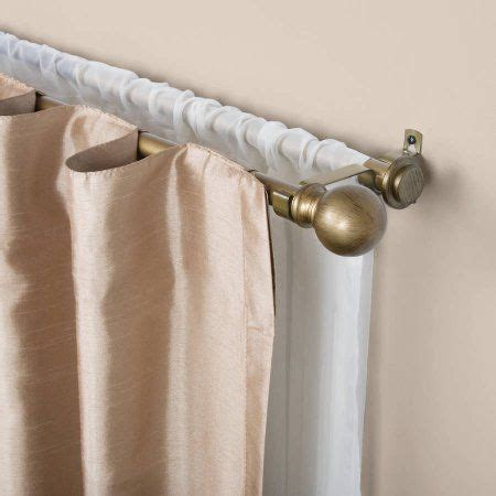 double rods for drapes 1000 ideas about double curtain rods on pinterest