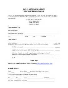 Fill In Obituary Template by Best Photos Of Obituary Templates Fill In Newspaper