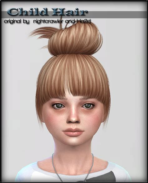 sims 4 child hair sims 4 cc s the best hair for child by shojoangel
